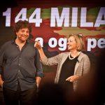Alessandro Sortino con Nunzia Penelope