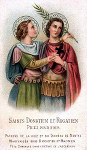 24 maggio: Santi Donaziano e Rogaziano