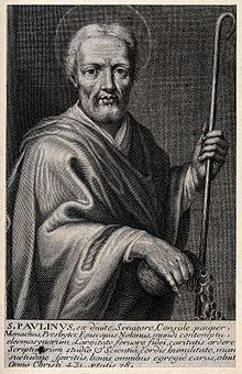 22 giugno: San Paolino da Nola