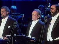 Domingo, Carreras e Pavarotti