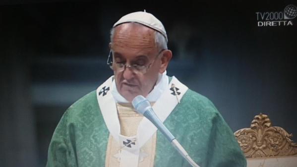 Omelia di Papa Francesco alla Messa d'apertura del Sinodo sulla famiglia