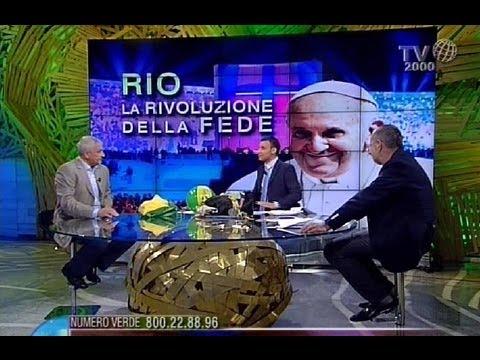 """""""Rio, la rivoluzione della fede"""". Lo speciale di Tv2000 sulla Gmg di Papa Francesco"""