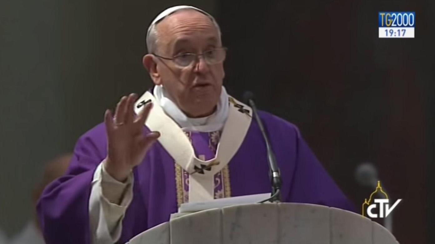 La visita di Papa Francesco alla Parrocchia romana di Ognissanti