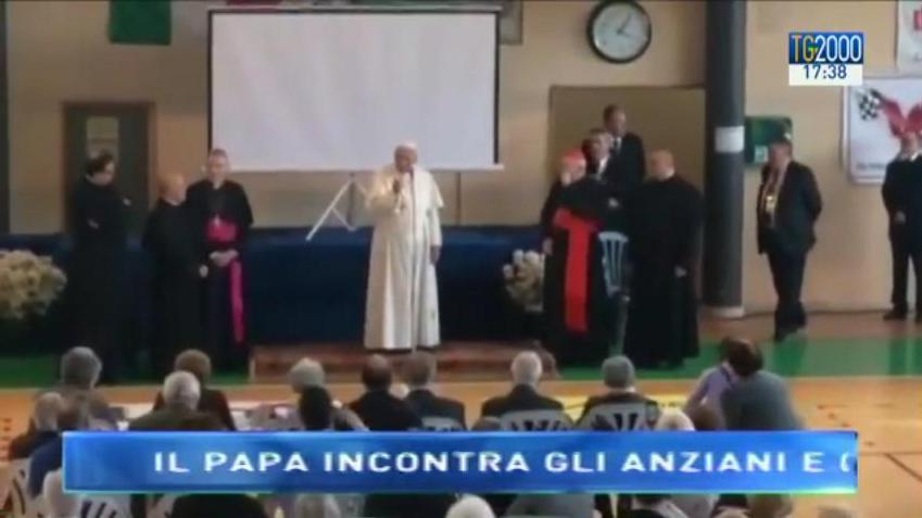 L'incontro di Papa Francesco con gli ammalati e gli anziani