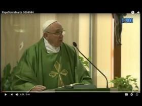 """Papa Francesco: una """"santa vergogna"""" di fronte a tentazione dell'ambizione che coinvolge tutti"""