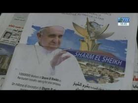 Il viaggio di Papa Francesco sulla stampa egiziana