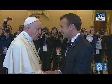 L'incontro in Vaticano tra Papa Francesco e Macron. I temi e gli appuntamenti della giornata