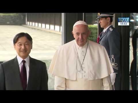 Papa in Giappone, incontra il nuovo imperatore e il premier. Tra i temi ambiente e pace
