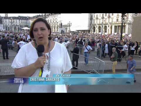 La visita di Papa Francesco a Torino. L'incontro con i giovani