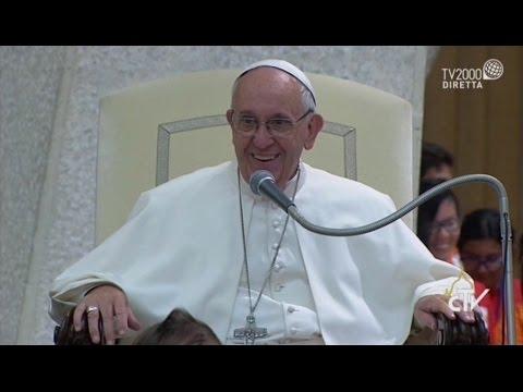 Incontro di Papa Francesco con i partecipanti al convegno per persone disabili promosso dalla Cei