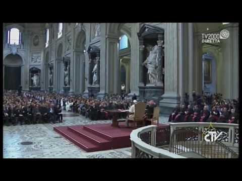 Convegno Ecclesiale Diocesi di Roma, Papa Francesco risponde a don Giampiero Palmieri, parroco di san Frumenzio