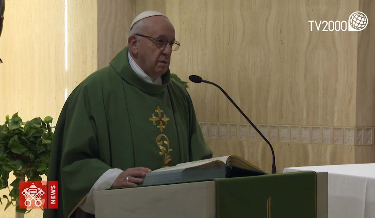 """Papa Francesco, omelia a Santa Marta dell'8 febbraio 2019: """"La vita ha valore solo nel donarla"""""""