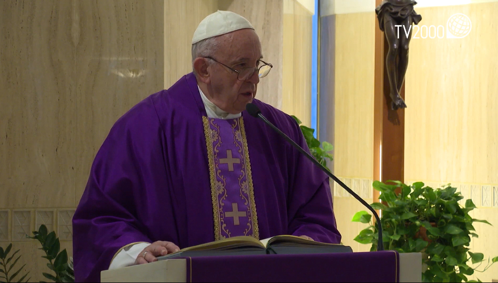 Papa Francesco: la fedeltà del cuore. L'omelia di Santa Marta del 28 marzo 2019