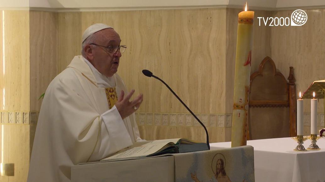 """Papa Francesco omelia del 28 maggio 2019: """"La giovinezza dello Spirito"""""""