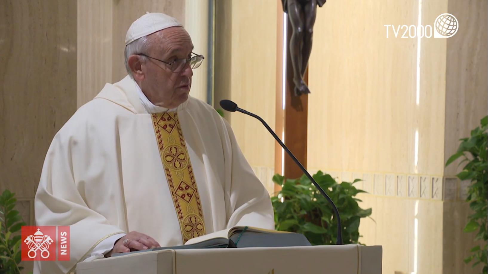 """Papa Francesco, omelia Santa Marta del 15 ottobre 2019 - """"L'ipocrisia è il linguaggio del diavolo"""""""