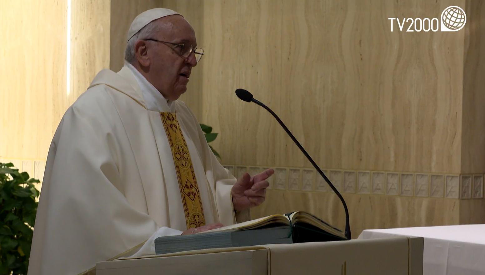 "Papa Francesco, omelia a Santa Marta del 24 gennaio 2020: ""La guerra dell'invidia"""