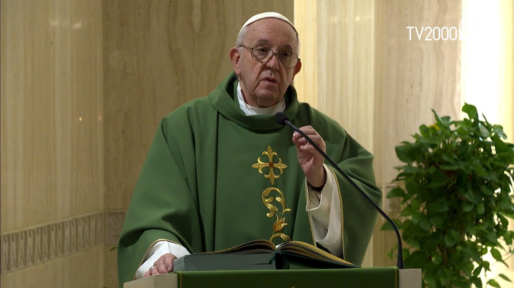 """Papa Francesco, omelia a Santa Marta del 30.01.2020: """"La misura del nostro giudizio"""""""