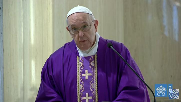 Papa Francesco, omelia a Santa Marta del 20 marzo 2020