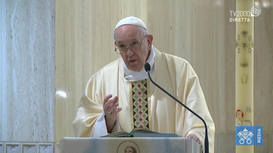 Papa Francesco, omelia a Santa Marta del 7 maggio 2020