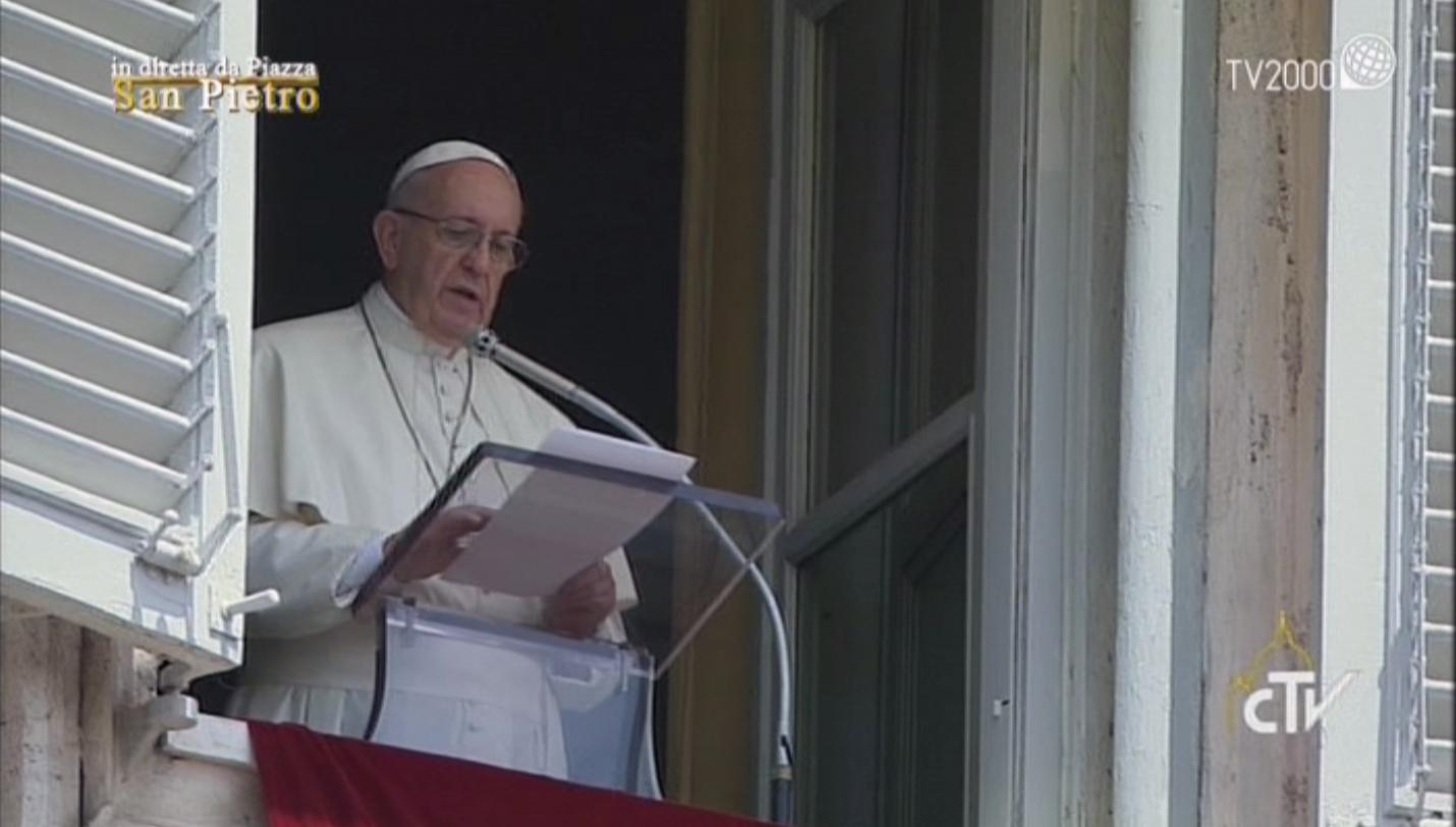 Angelus di Papa Francesco del 24 luglio 2016