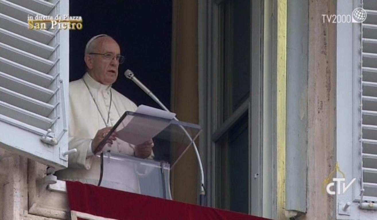 Angelus di Papa Francesco del 4 dicembre 2016
