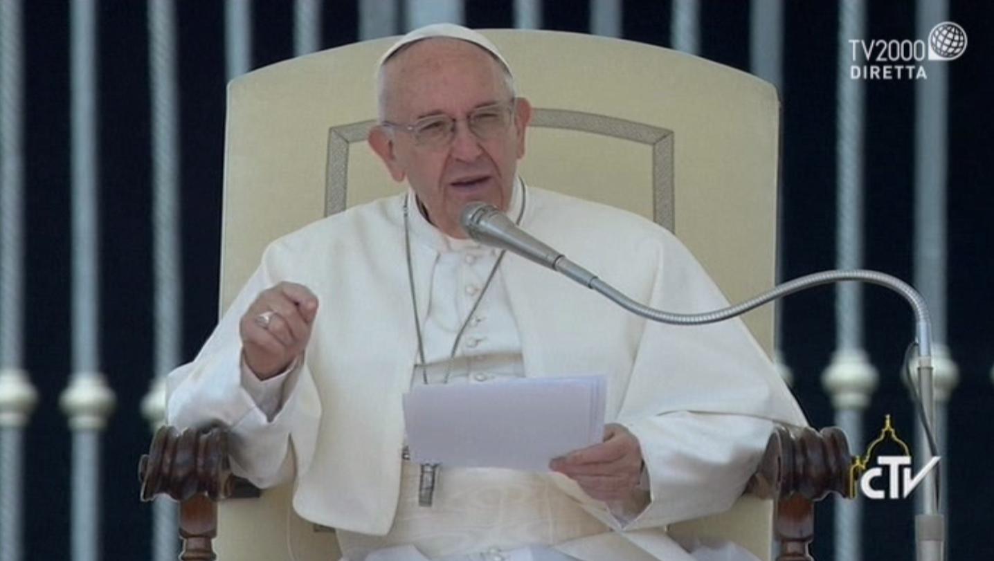 Catechesi di Papa Francesco nell'Udienza Generale del 10 maggio 2017