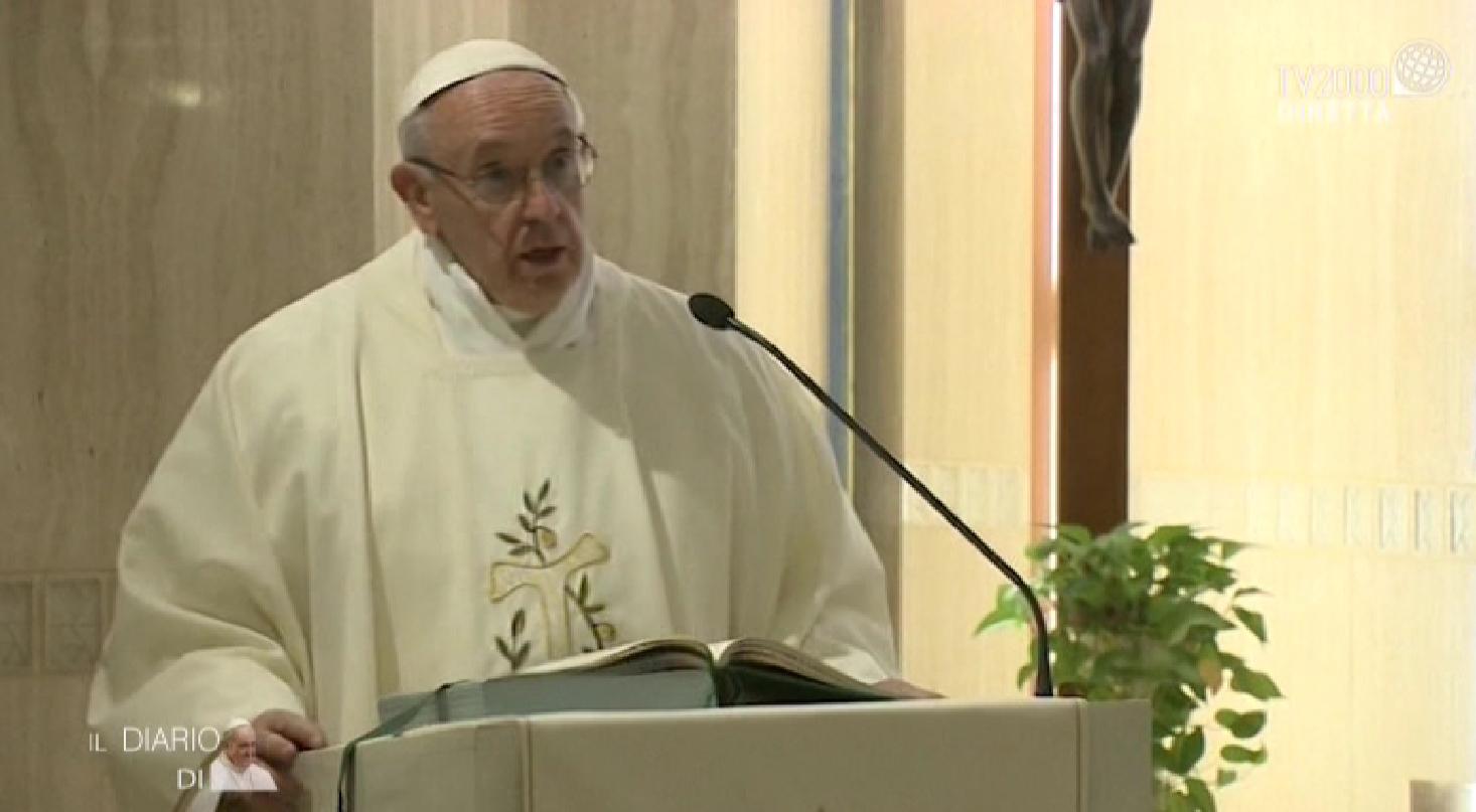 L'Omelia di Papa Francesco a Santa Marta del 15 maggio 2018