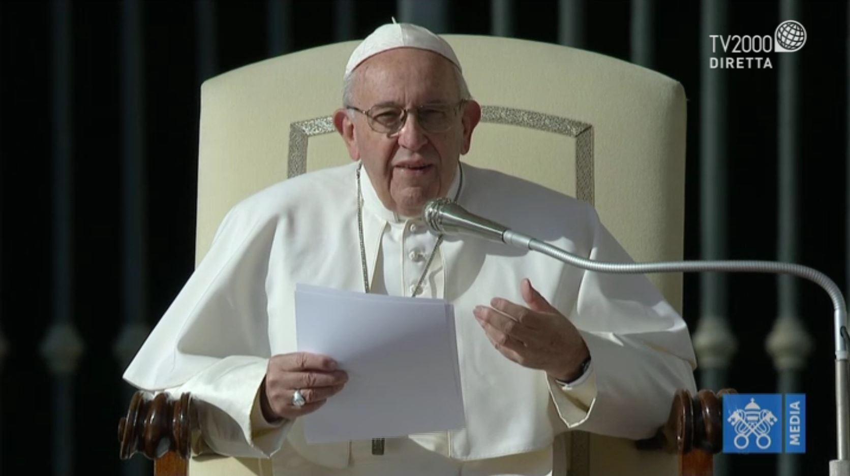 Papa Francesco, Catechesi dell'Udienza Generale del 14 novembre 2018