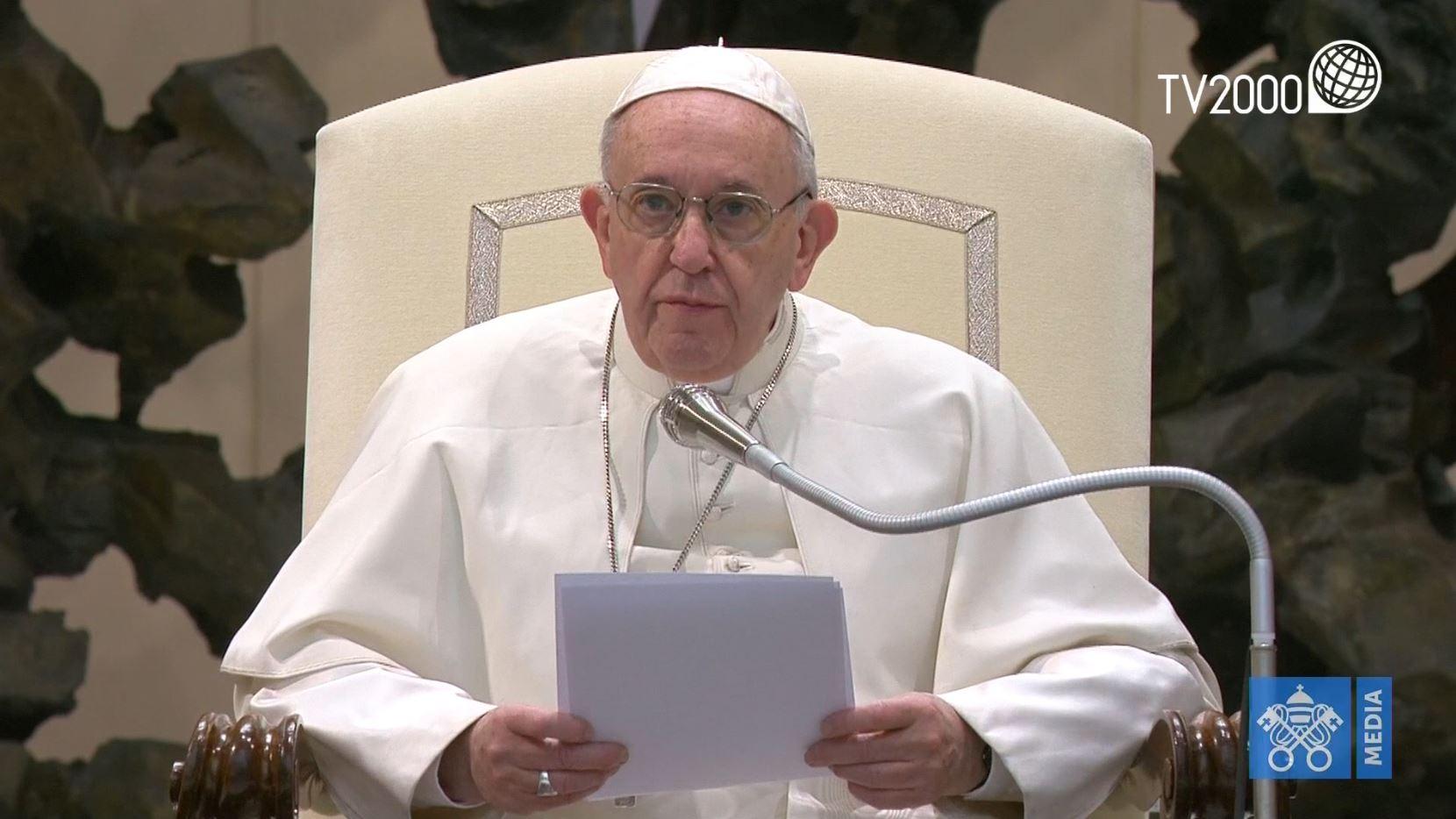 Papa Francesco, Catechesi dell'Udienza Generale del 2 gennaio 2019