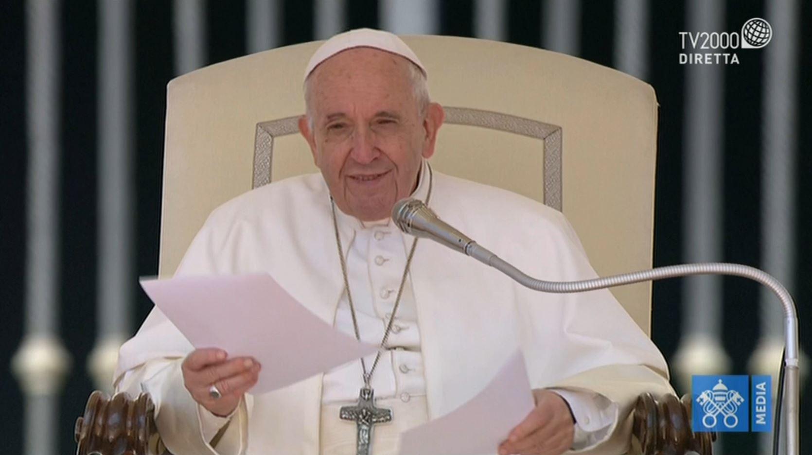 Papa Francesco, Udienza generale dell'8 maggio 2019