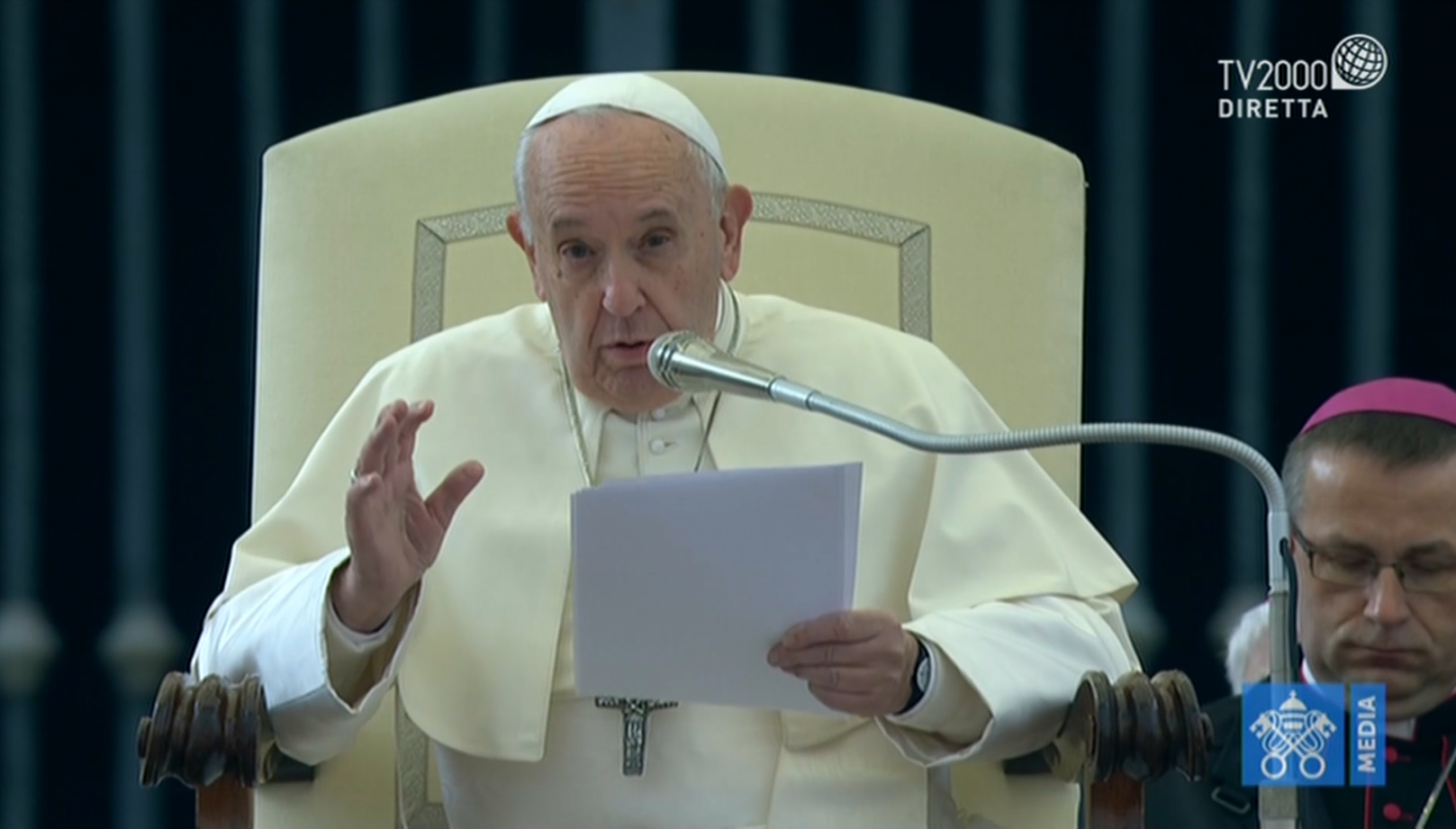 Catechesi di Papa Francesco nell'Udienza Generale del 13 novembre 2019