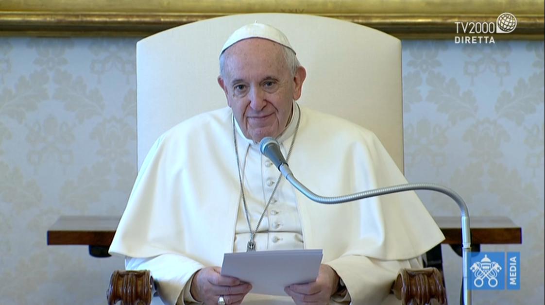 Papa Francesco, Udienza Generale del 1 aprile 2020