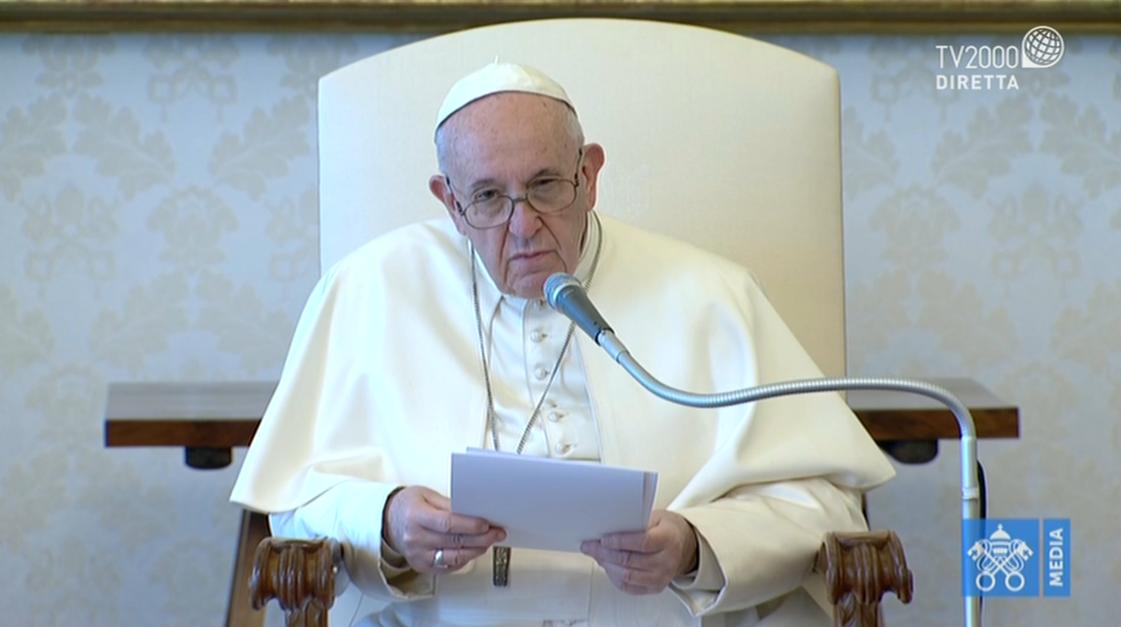 Papa Francesco, Udienza Generale del 8 aprile 2020
