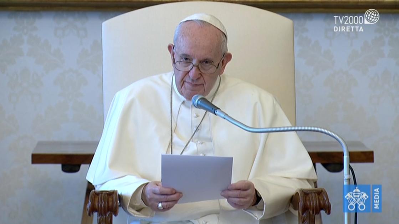 Papa Francesco, Udienza Generale del 29 aprile 2020