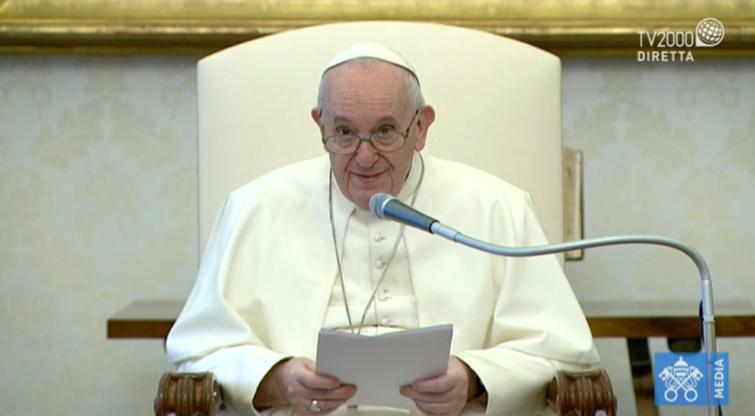 Papa Francesco, Udienza Generale del 17 giugno 2020