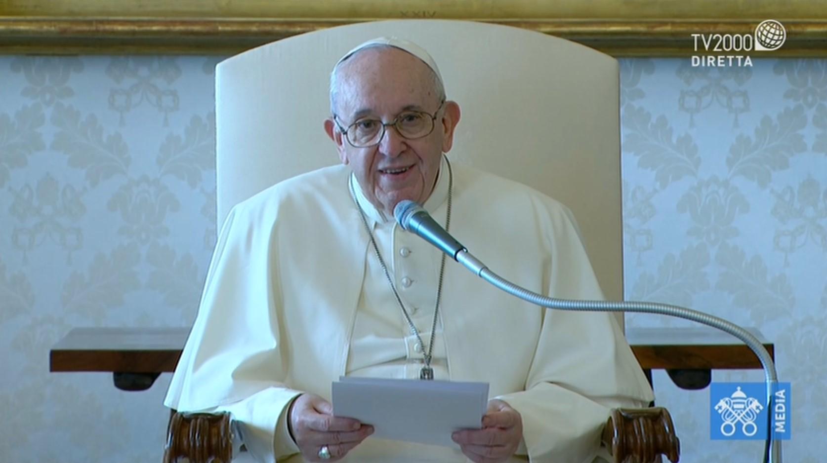 Papa Francesco, Udienza Generale del 18 novembre 2020