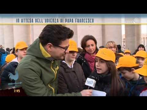 I bambini delle scuole di Legnano e Cislago in udienza dal Papa
