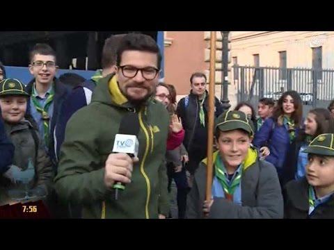 Gli scout di Celico (Cosenza) in udienza dal Papa