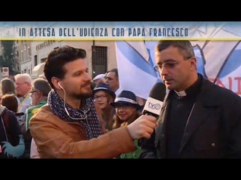 I pellegrini di Pordenone in attesa dell'Udienza del Papa