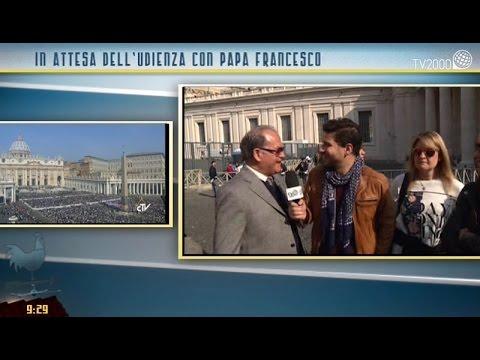 I pellegrini dalla Sardegna all'Udienza del Papa