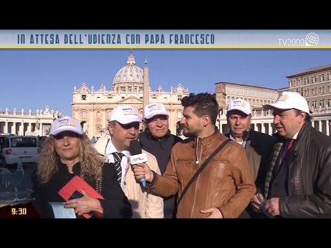 I pellegrini del Rotary Internazionale in udienza dal Papa