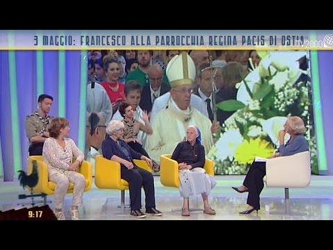 3 maggio: Papa Francesco alla Parrocchia Regina Pacis di Ostia