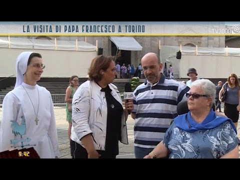 La visita del Papa alla Piccola Casa della Divina Provvidenza Cottolengo