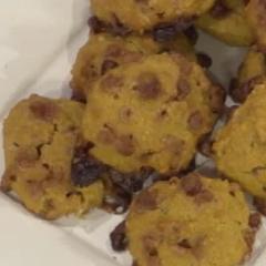 Biscotti Di Natale Quel Che Passa Il Convento.Biscotti Di Zucca E Gocce Di Cioccolato Quel Che Passa Il Convento