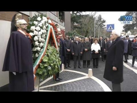40 anni dalla strage di Via Fani, la commemorazione con il presidente Mattarella