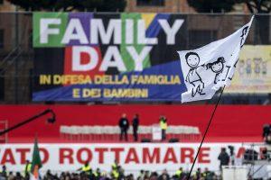 Family Day: al Circo Massimo affluisce folla di partecipanti