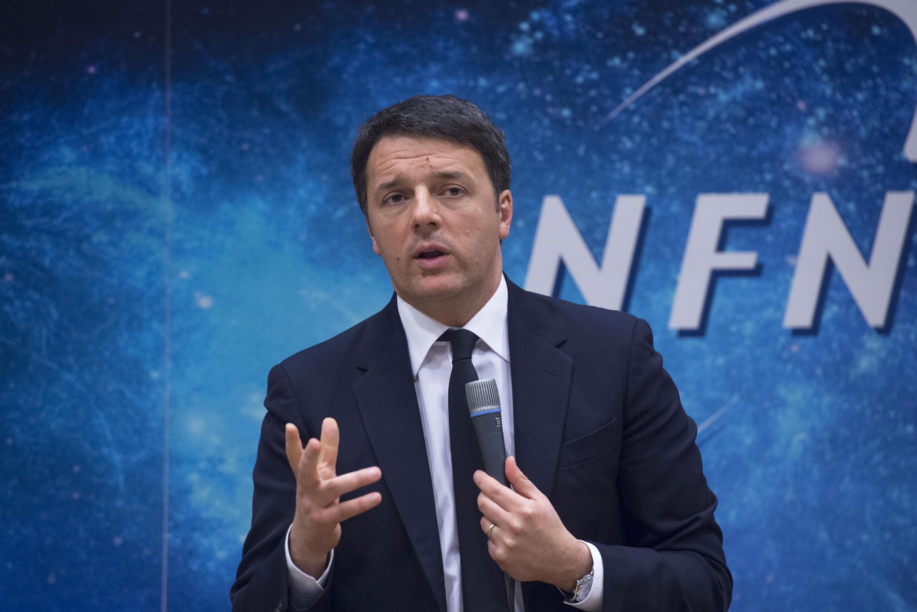 Renzi, pronti 60 milioni per laboratori Gran Sasso