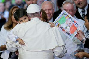Papa: Messico; visita piccoli pazienti ospedale pediatrico