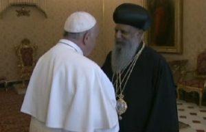 Patriarca ortodosso etiope Papa Francesco