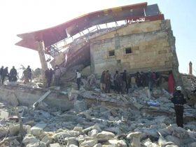 Siria: tv, 9 morti in raid russo su ospedale Msf